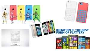 Les nouveaux iPhone 5C et 5S d'Apple ont été égratignés par la concurrence