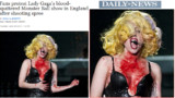 Lady Gaga choque l'Angleterre
