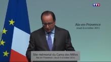 """François Hollande : le racisme va devenir une """"circonstance aggravante"""""""
