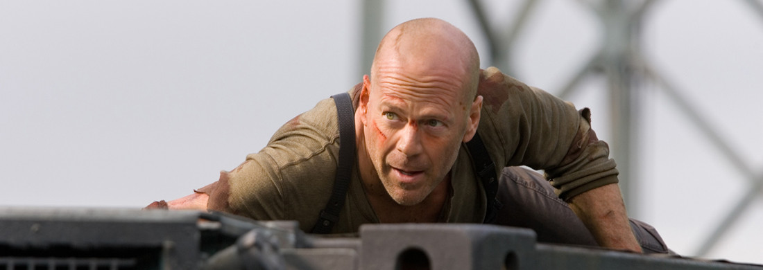 """Die Hard 4"" : Bruce Willis retourne en enfer"