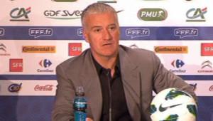 Didier Deschamps annonce sa liste pour France-Georgie et France-Espagne, le 14 mars 2013.