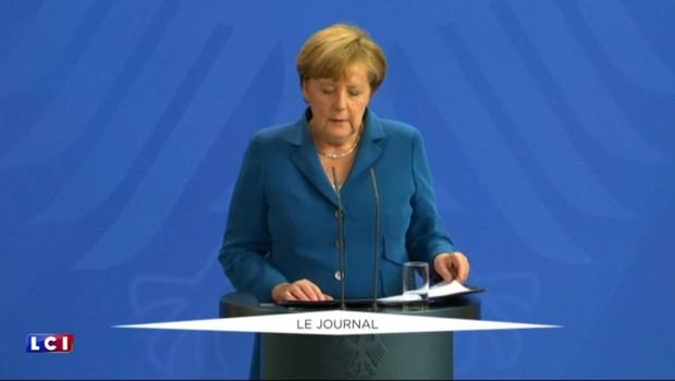 """Fusillade à Munich : """"Nous portons le deuil avec le coeur lourd"""", dit Merkel"""