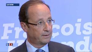 """Hollande : """"je veux que le quotient familial soit juste"""""""