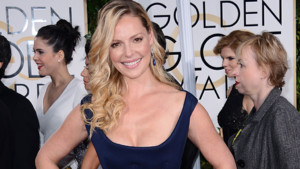 Katherine Heigl aux Golden Globes Awards le 11 janvier 2015.