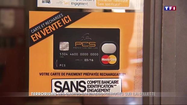 Les cartes bancaires anonymes, nouvelles bêtes noires du gouvernement