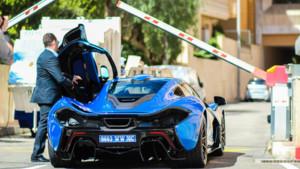McLaren P1 Lewis Hamilton Monaco 2015