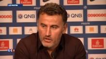 """PSG-ASSE : """"On a pris une fessée!"""" selon Christophe Galtier"""