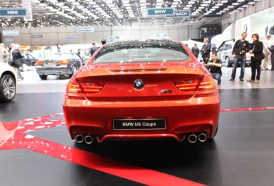 BMW M6 Coupe au Salon de Genve 2012