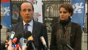 Hollande: la vision de Sarkozy sur le nucléaire est une caricature