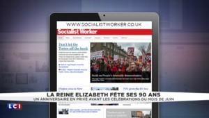 La reine Élizabeth fête ses 90 ans : la revue de presse des journaux anglais