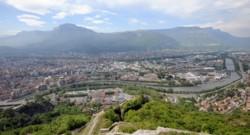 La ville de Grenoble.