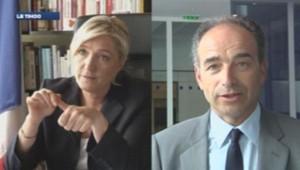 Marine Le Pen/Jean-François Copé