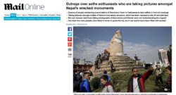 Népal-Selfie