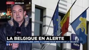 Opération antiterroriste : les Belges reprennent leur souffle
