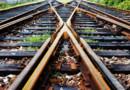 Un chemin de fer (Image d'illustration)