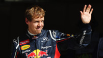 Vettel Red Bull F1 GP Etats Unis 2012