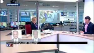 Manuel Valls quitte son domicile : les images