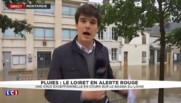 Fortes pluies : le Loiret en alerte rouge, une celulle de crise ouverte