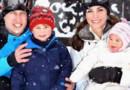 Kate Middleton et le Prince William en vacances à Courchevel