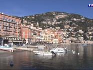 Le 13 heures du 2 mars 2015 : Les ports de la Côte d'Azur en hiver (1/5) : Villefranche-sur-mer - 2149.4467712402343