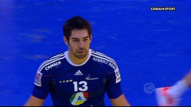 Le handballeur français Nikola Karabatic