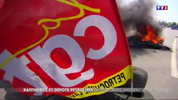 Blocage des dépôts de carburants : les motivations de la CGT
