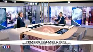 """Hollande à Rome : """"C'est une nouvelle période dans les relations entre le vatican et l'État français"""""""