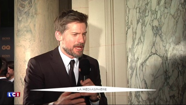 Jaime Lannister, de Game of Thrones, fan du cinéma français