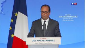 """Le 13 heures du 25 août 2015 : Terrorisme : """"Nous devons nous préparer à d'autres assauts"""", assure Hollande - 507"""