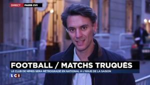 Matchs truqués : Nîmes relégué en National à l'issue de la saison