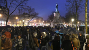 Nuit Debout #NuitDebout place de la République Paris loi Travail manifestation