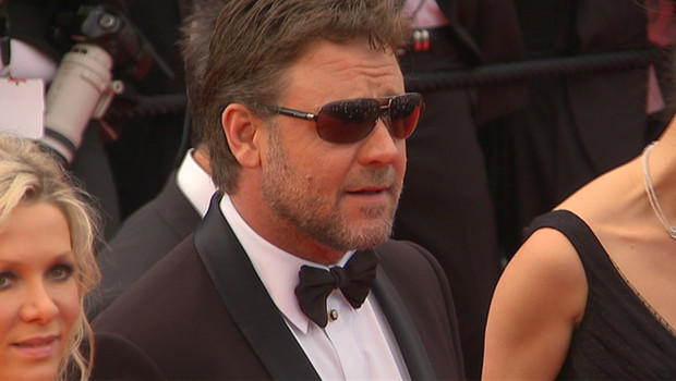 Russell Crowe sur la Croisette (mai 2010)