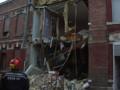 Une maison soufflée par une explosion à Saint-Quentin.