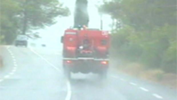 pompiers var orage