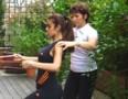 Exercice de fitness bras épaules