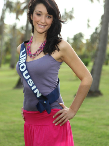 Miss Limousin 2009 - Justine Posé : candidate Miss France 2010