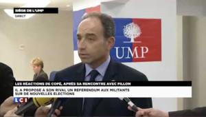 Copé : un référendum sur un nouveau vote à l'UMP