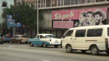 Cuba : un rue de La Havane, décembre 2014