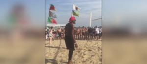 JO 2016 : après le foot US, la Team USA s'essaie au beach-volley à Copacabana