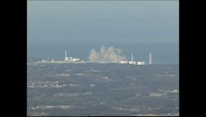 Les images de l'explosion dans une centrale de Fukushima, au Japon, le 12 mars 2011.