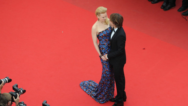 Nicole Kidman et son mari Keith Urban lors de la monte des marches du film &amp;quot;Inside Llewyn Davis&amp;quot;  Cannes le 19 mai 2013