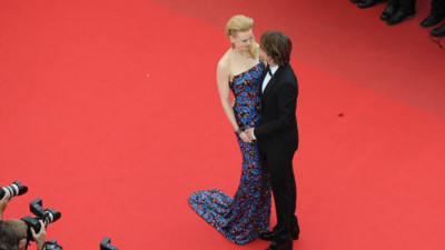 Nicole Kidman et son mari Keith Urban lors de la monte des marches du film &quot;Inside Llewyn Davis&quot;  Cannes le 19 mai 2013