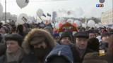 L'opposition russe dans la rue contre Poutine