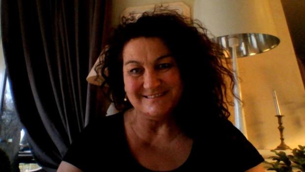 Elisabeth Boissinot, la mère d'une victime des attentats du 13 novembre .
