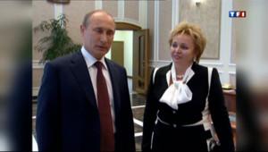 Le 20 heures du 7 juin 2013 : Le dr�d'annonce du divorce de Poutine - 1516.9547558593745