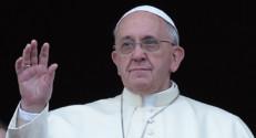 Le pape François sur le balcon de la basilique Saint-Pierre, le 25 décembre 2013.