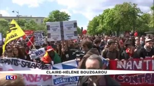 Loi Travail : des heurts ont éclaté à la gare d'Austerlitz à Paris