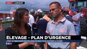Plan d'urgence élevage : la FDSEA Calvados va analyser les mesures, le blocage continue