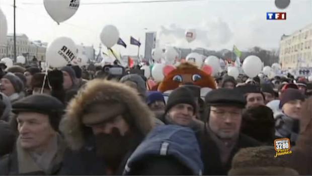 Pro et anti-Poutine manifestent à Moscou