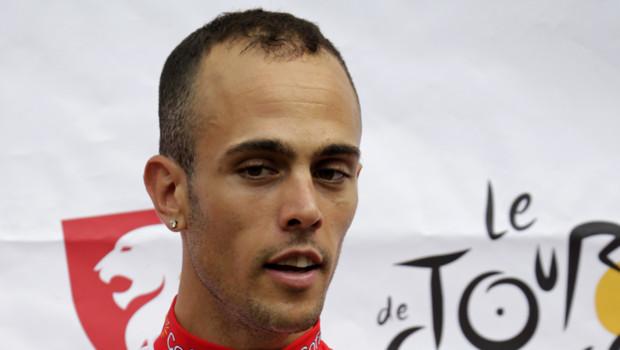 Rémy Di Gregorio, à Liège pour le départ du Tour de France 2012, 28/6/12